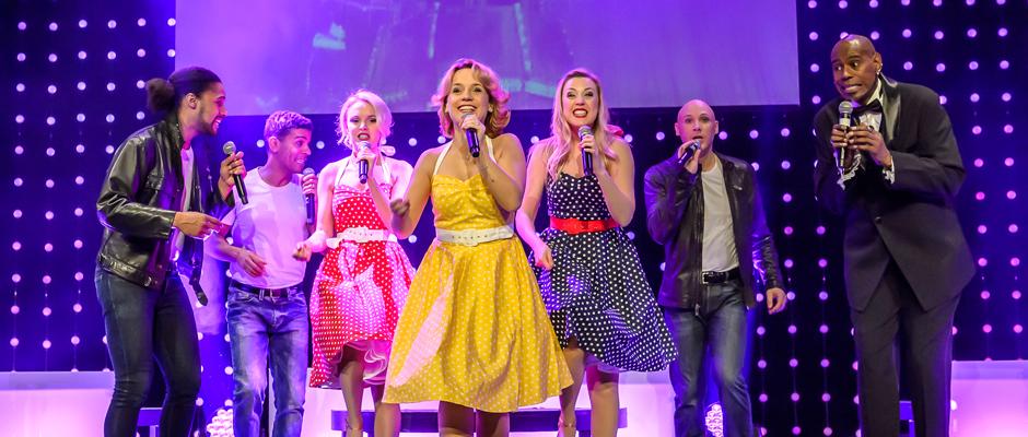 Immer wieder beliebt - die Hits aus Grease. © Creativ Team, Micke Ovesson
