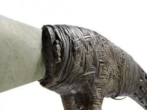 Prunkbeil aus Papua-Neuguinea: 19./20. Jahrhundert