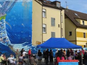 Wandbildern in Bochum an der Herner Straße. © EWZ Herne.