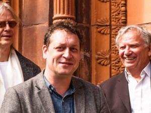 Das Anarcho-Trio (v.l.n.r.): Kai Sichtermann, Gymmick und Funky K. Götzner.