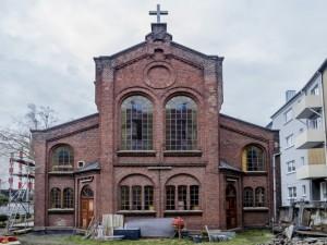 Das Gebetshaus der Masuren im Herner Viertel Altenhöfen. © Frank Dieper, Stadt Herne.