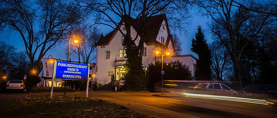 Das Parkrestaurant- und Hotel zur blauen Stunde. ©Thomas Schmidt, Stadt Herne