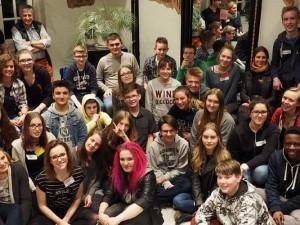 Hatten großen Spaß und haben viel über Demokratie gelernt. Vertreter verschiedener Jugendparlamente der Region erlebten ein gemeinsames Wochenende. Foto: KiJuPa Herne