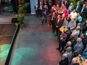 Der Arbeitnehmerempfang in den Flottmannhallen war einmal mehr gut besucht. Foto: Thomas Schmidt / Stadt Herne