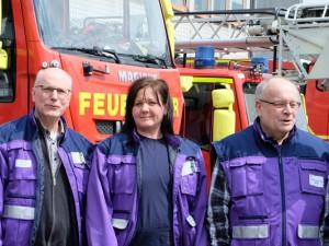 Drei Notfallseelsorger aus Herne. © Nina-Maria Haupt, Stadt Herne