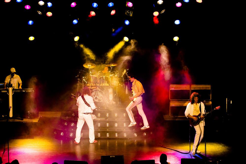 Die Queen-Revival-Band mit Freddy-Mercury-Feeling.
