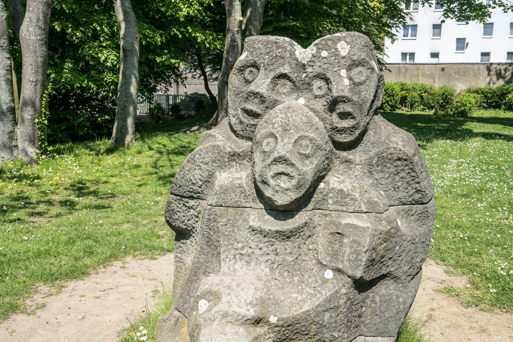 FußballSkulptur © Horst Martens, Stadt Herne