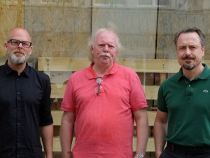 Für verkaufsoffene Sonntage: Jens Reiter, Norbert Menzel und Holger Wennrich.