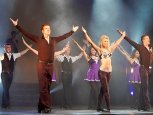 Irische Tänzer erobern die KuZ-Bühne.
