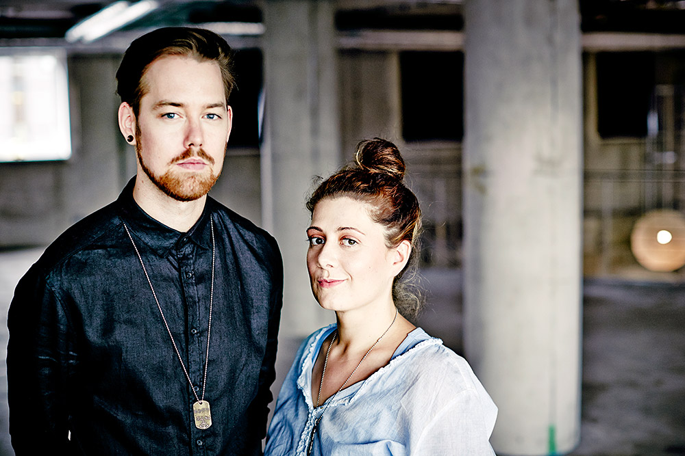Jana Crämer und David Müller verbindet eine langjährige Freundschaft. ©Ben Wolf