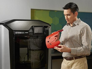 3-D-Druck - innovative Technologie. © Cinteg AG, Oberhausen.