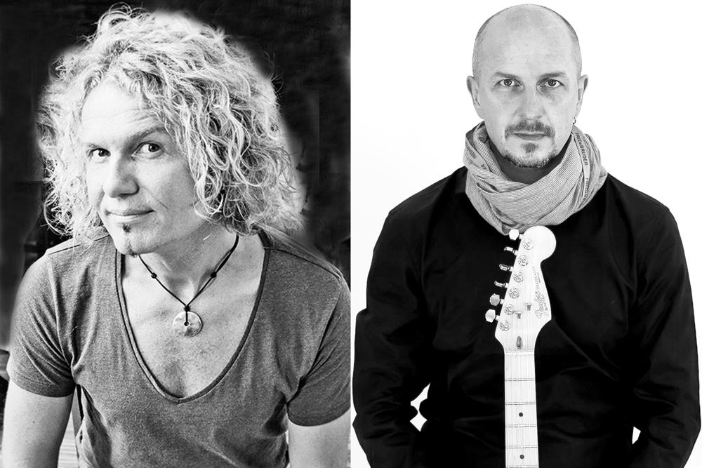 "Das ""Acoustic Cover Duo"": handgemachte Musik auf akustischen Instrumenten. © Acoustic Cover Duo"