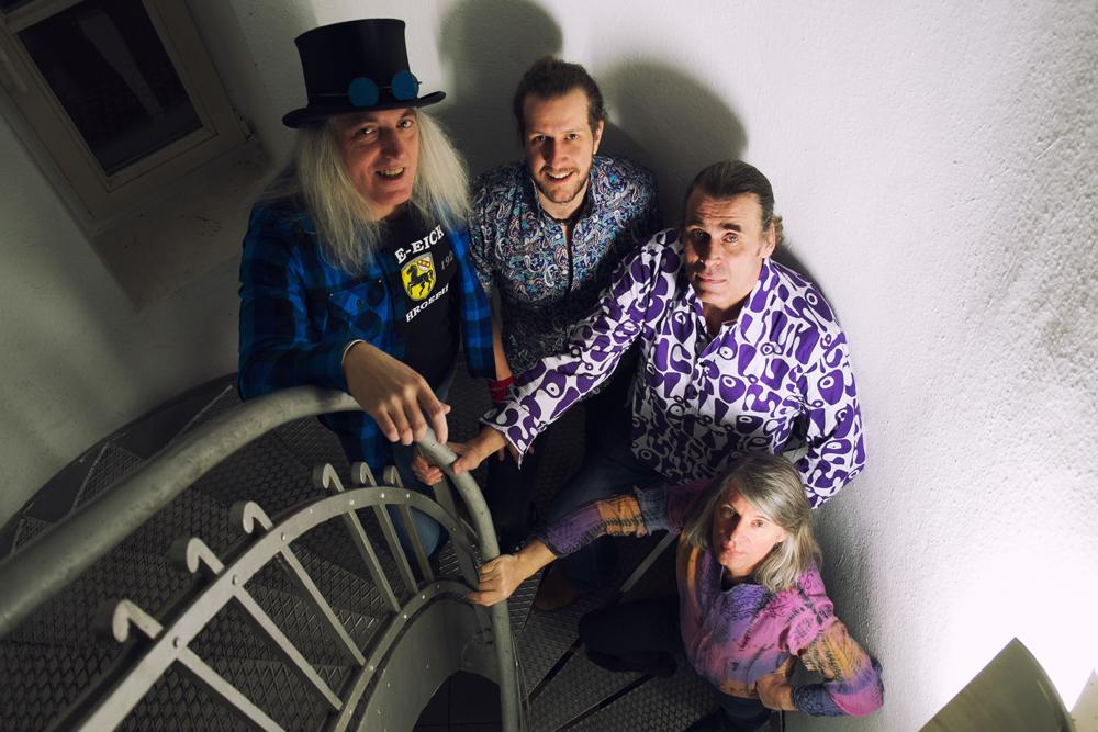 """""""Good Vibration"""" mit Graf Hotte als Lead-Sänger beschließen die Mondnächte. © Good Vibration"""