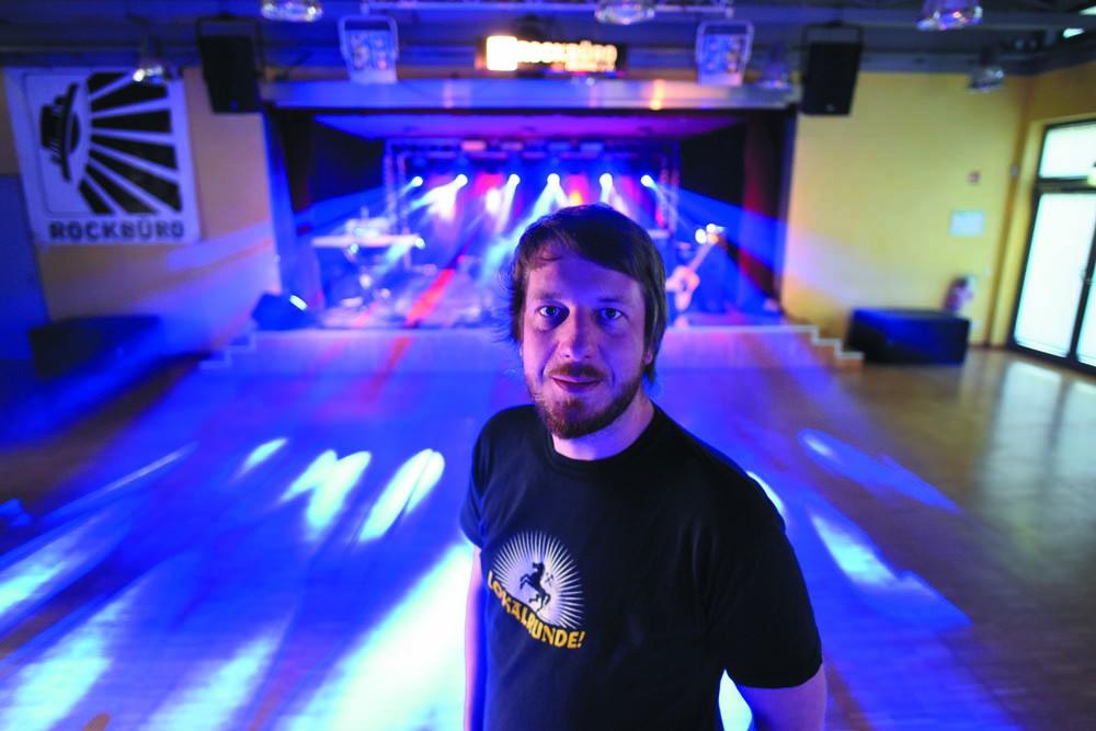 Jakob Terlau, der Vorsitzende des Vereins. - Foto: Björn Koch.