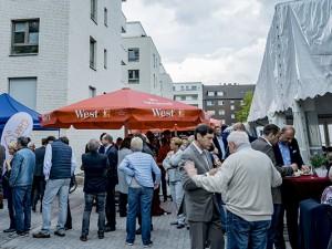 Die Strünkeder Höfe waren voll mit Gästen. © Nina-Maria Haupt, Stadt Herne