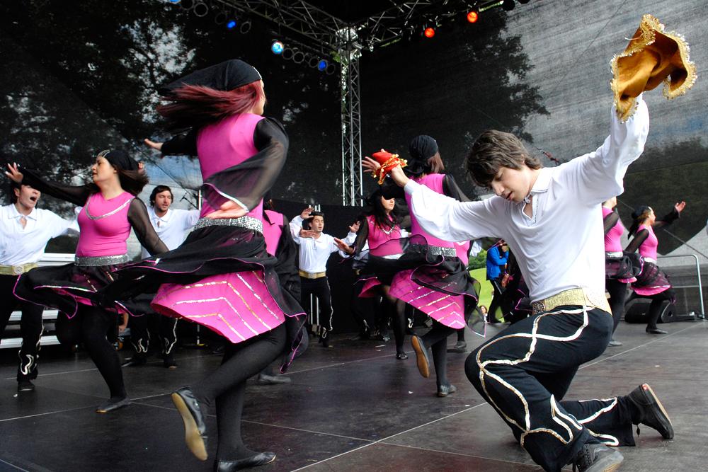 Kulturfestival: Szene aus den Vorjahren. © Thomas Schmidt, Stadt Herne.