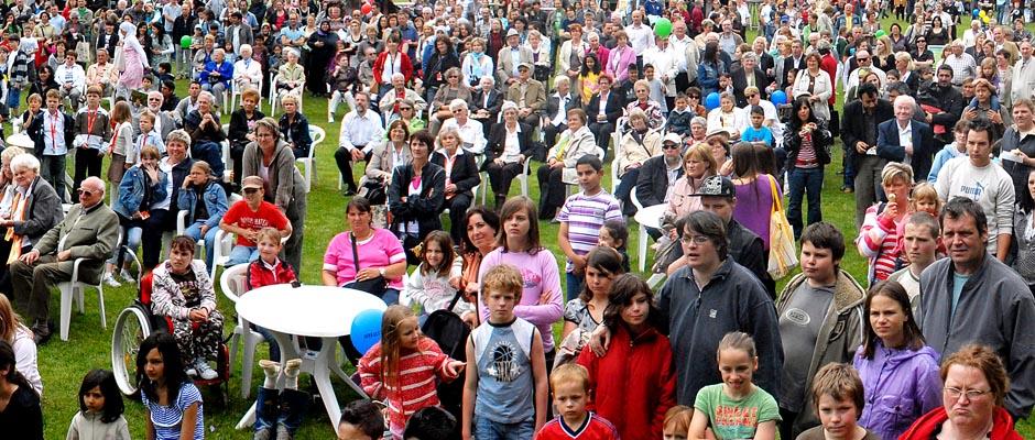 Kulturfestival-Szenerie aus einem der Vorjahre. © Archivbild Thomas Schmidt, Stadt Herne.