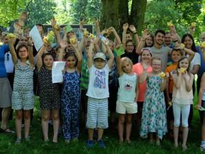 Die Schülerinnen und Schüler freuen sich auf den neuen Lernort. © Nina-Maria Haupt, Stadt Herne
