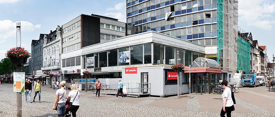 Aus dieser Immobilie soll ein elegantes Stadthaus entstehen. ©Thomas Schmidt, Stadt Herne.