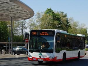 Die Liniennummer 333 wird künftig entfallen. Die Strecken werden bei verbessertem Angebot durch die Linien 311, 321 und 323 übernommen.