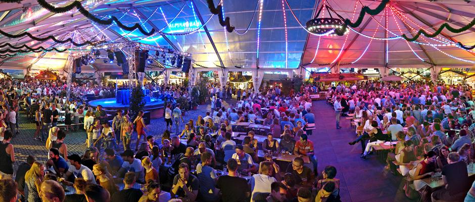 Steht für beste Unterhaltung auf Großveranstaltungen: das Festzelt von Betreiber Klaus Renoldi. ©Renoldi.