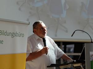Professor Werner Sacher ©Nina-Maria Haupt, Stadt Herne