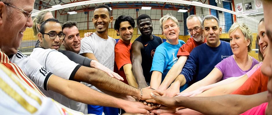 Integration durch Sport. © Andrea Bowinkelmann