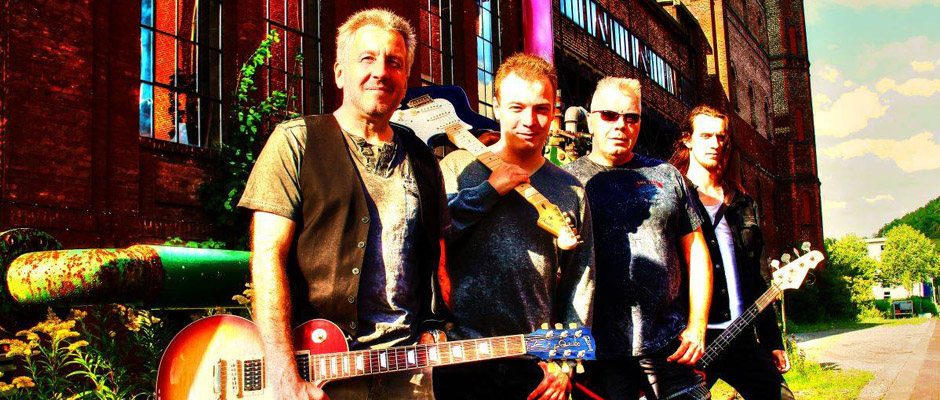 """Musiker der Band """"Provinzlärm"""", aus deren Mitte die Initiative zu dem Festival kam."""
