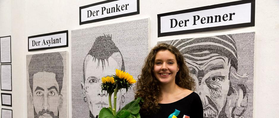 Lag bei der Classic-Jury vorn: Annika Landowski mit ihrem eindrucksvollen Bild. ©Sascha Rutzen.