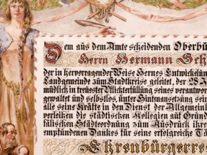Schaefer wurde Hernes erster Ehrenbürger.