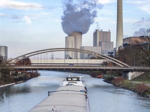 Derzeitiges Kraftwerk am Rhein-Herne-Kanal. ©Thomas Schmidt, Stadt Herne