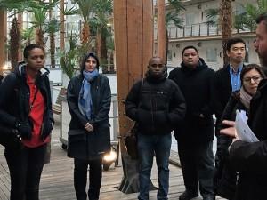 Klimakonferenzler in der Akademie Mont-Cenis.