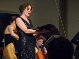 Marianne Beate Kielland, Mezzosopranistin und Solistin der geistlichen Konzerte mit dem Ensemble NeoBarock. © WDR, Thomas Kost.