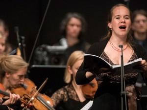 """Marie Luise Werneburg (Sopran) begeisterte bei """"Jesus auf der Schaubühne"""". ©Thomas Kost, WDR."""