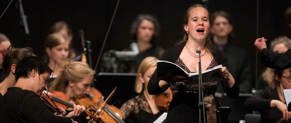 Marie Luise Werneburg (Sopran) begeisterte bei