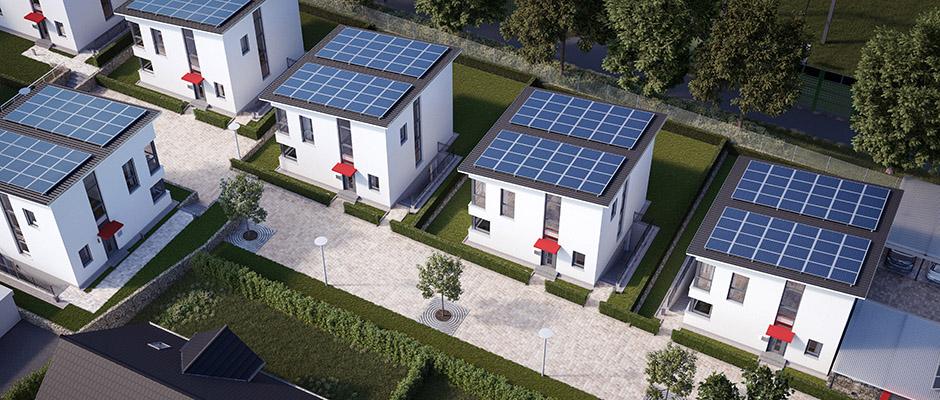 Die Klimasiedlung im Entwurf. Foto': Stadtwerke Herne