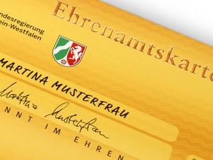 Wer sich beim Ehrenamtsbüro registriert, bekommt eine Ehrenamtskarte.