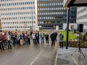 Oberbürgermeister Dr. Frank Dudda bei der Eröffnung des Technisches Rathauses. ©Frank Dieper, Stadt Herne