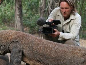 Andreas Kieling filmt wilde Tiere.