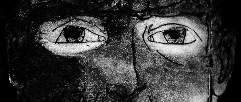 Gesicht eines Bergarbeiters. ©Anna-Lina Mattar.