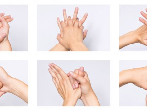 Händedesinfektion zählt zu den wichtigen Hygienemaßnahmen – auch für die Besucher.