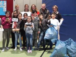 Kinder der Josefschule haben den Energiespar-Cup gewonnen. © Nina-Maria Haupt, Stadt Herne