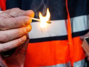 Feuerwerker bei der Arbeit ©Thomas Schmidt, Stadt Herne