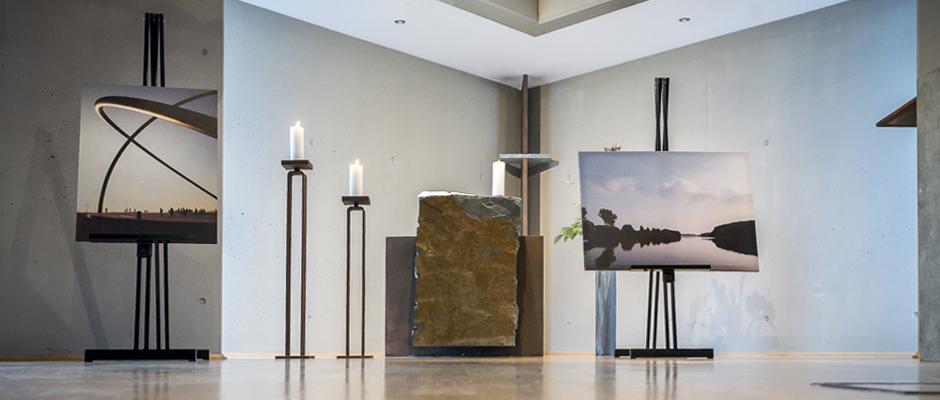Ausstellung in der Kapelle. ©Thomas Schmidt, Stadt Herne.