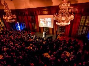 Der Ratssaal, an diesem Tag ein Festsaal, war gut gefüllt. ©Frank Dieper, Stadt Herne