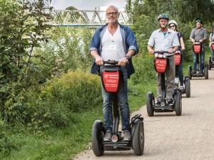 Segway-Tour am Rhein-Herne-Kanal. ©Isabel Diekmann.