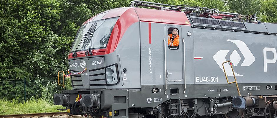 Ein Zug fährt in Wanne ein. ©Thomas Schmidt, Stadt Herne