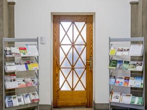 Hier geht's in die neuen Räume des Ehrenamtsbüros. ©Frank Dieper, Stadt Herne