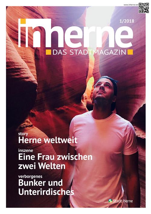 """Der Titel der neue Ausgabe des Stadtmagazins """"inherne""""."""