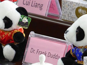 Flair beim Empfang in China. ©Stadt Herne